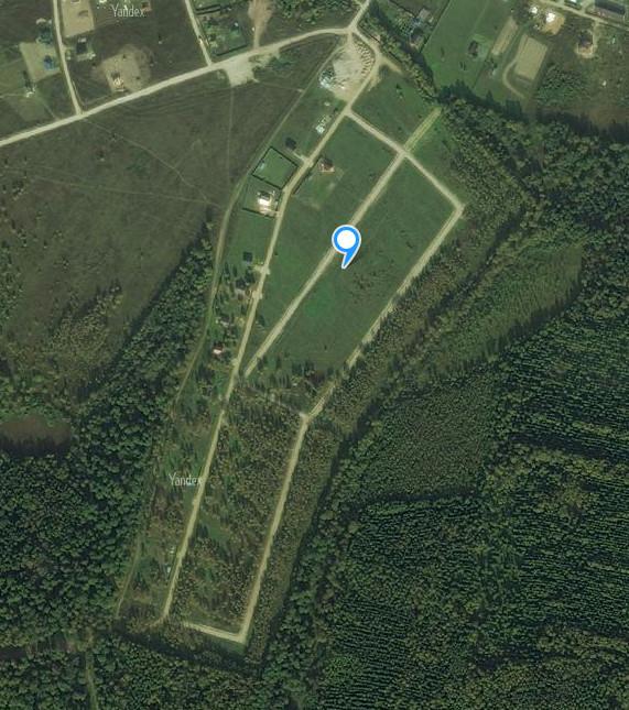 Снимок участков со спутника